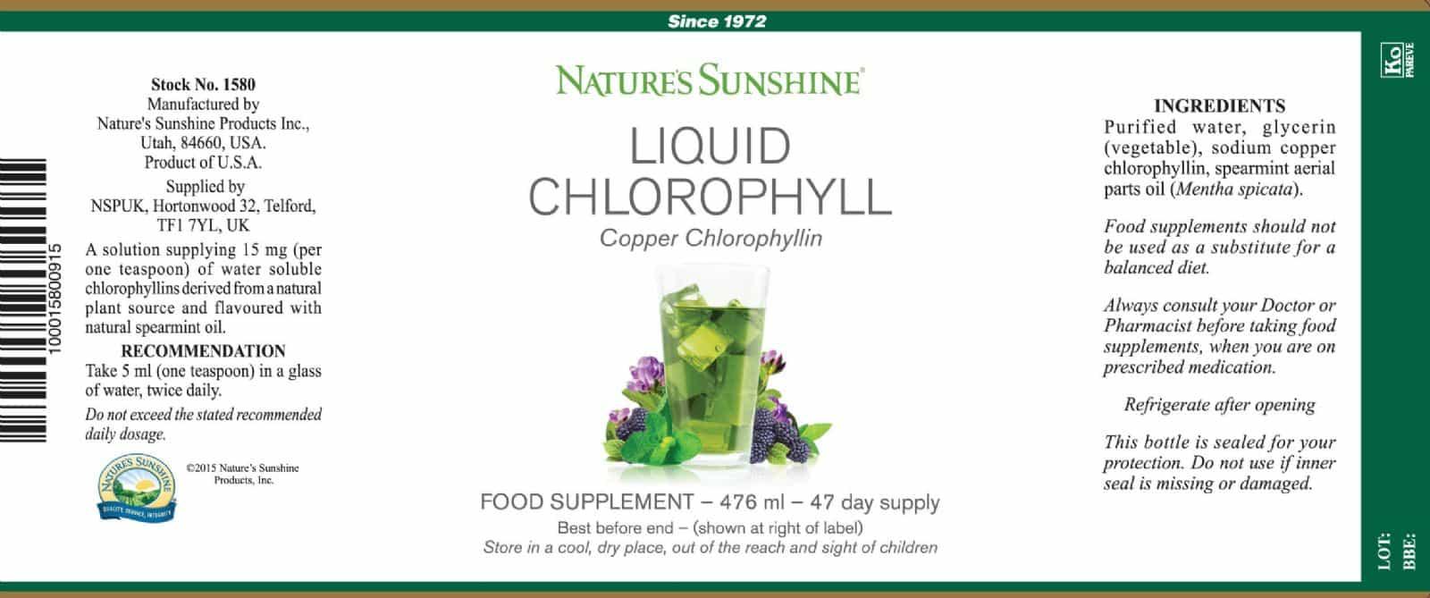 Nature S Sunshine Liquid Chlorophyll Reviews