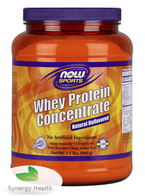 Organic whey concentrate